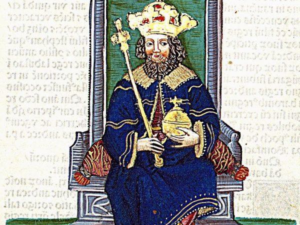 Najmniej popularny polski władca na XV-wiecznej miniaturze.