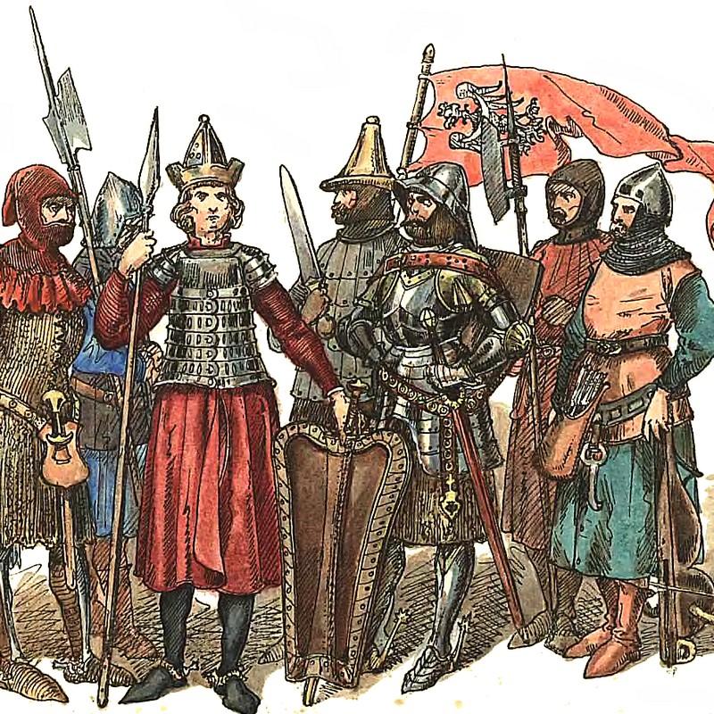 Wojsko polskie z przełomu XIV i XV wieku według Jana Matejki