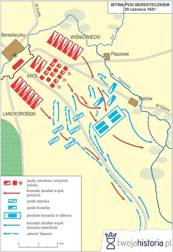 Bitwa pod Beresteczkiem 30 czerwca 1651 (ryc. Daniel Malak/TwojaHistoria.pl).