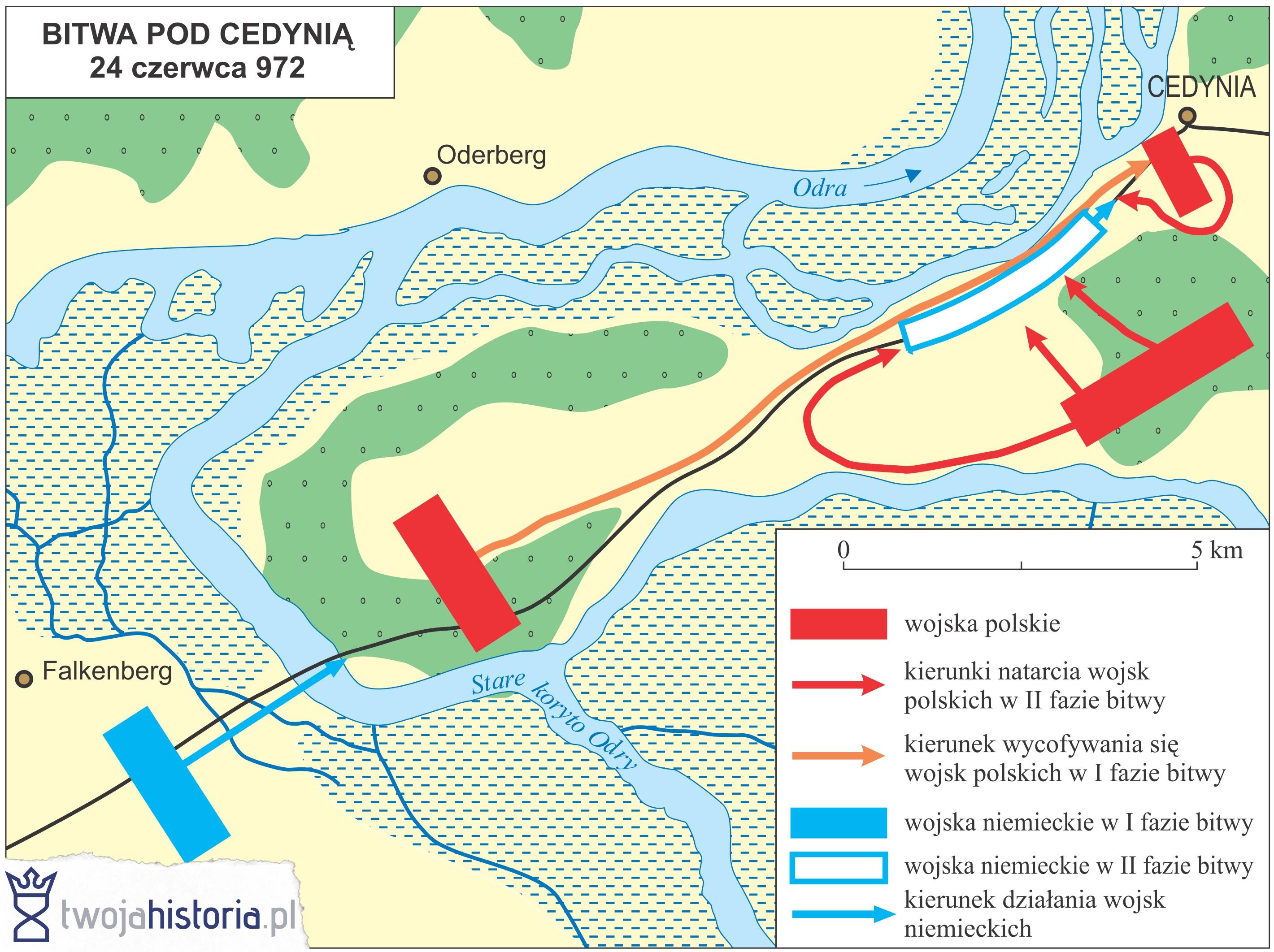 Bitwa pod Cedynią (24 czerwca 972) | TwojaHistoria.pl