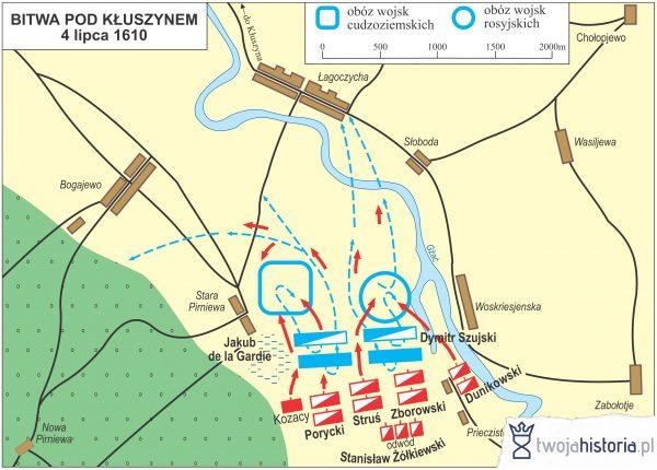 Bitwa pod Kłuszynem, 1610.