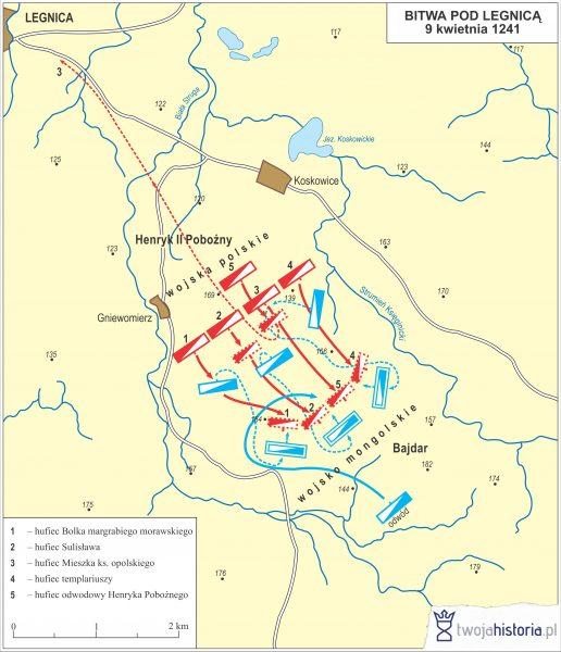 Bitwa pod Legnica, 1241.
