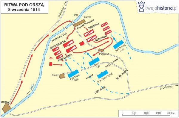Bitwa pod Orszą, 1514.