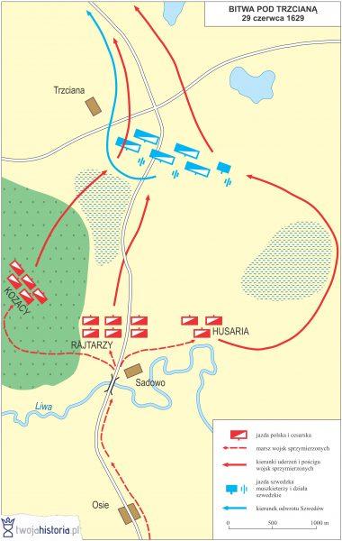 Bitwa pod Trzcianą, 1629.