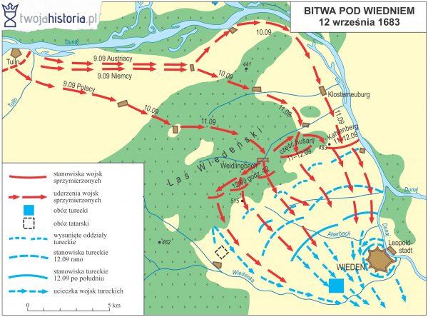 Bitwa pod Wiedniem, 1683.