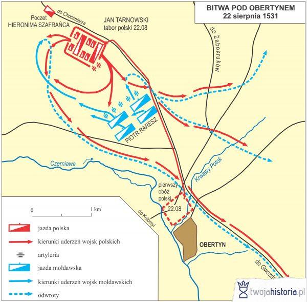 Bitwa pod Obertynem, 1531.