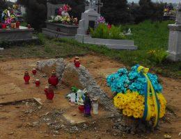 Pod koniec zeszłego roku pozostałości pomnika UPA wyglądały tak. Teraz nie ma po nich śladu (fot. archiwum prywatne)