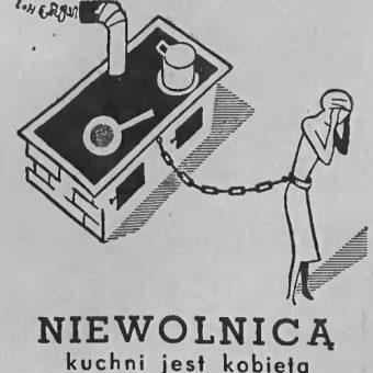 Przedwojenna reklama kuchenek. (fot. domena publiczna)