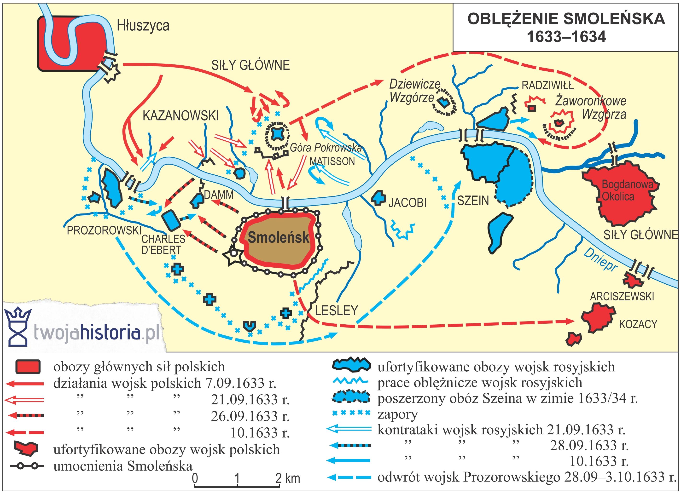 Oblężenie Smoleńska (18 października 1632 - 7 stycznia 1634
