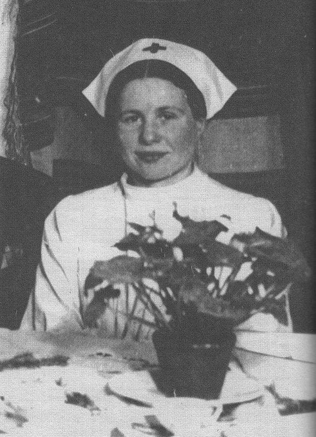Irena Sendlerowa prowadziła Referat Dziecięcy Żegoty. Zdjęcie powstało w Wigilię Bożego Narodzenia 1944 roku.