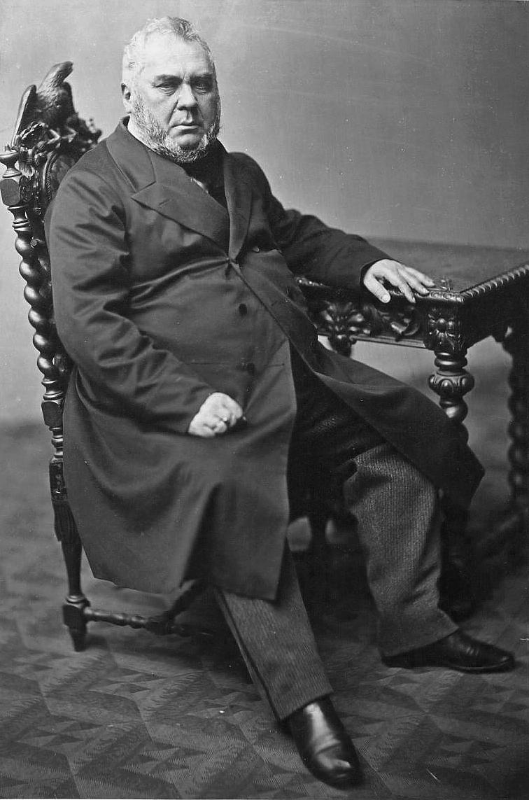Aleksander hrabia Wielopolski, 1862.