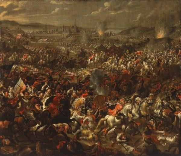 Pauwel Casteels, Bitwa pod Wiedniem.