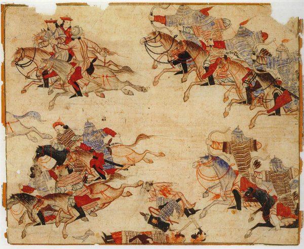 Europejczycy poznali Mongołów przede wszystkim jako najeźdźców. Do stolicy imperium docierali nieliczni wędrowcy.