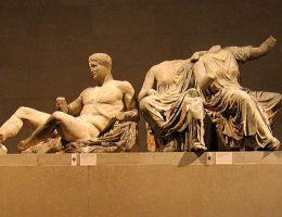 Fragment sławnych marmurów Elgina