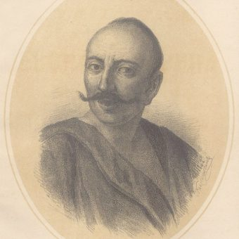 Iwan Gonta. Jeden z powstańców, którego oddziały oblegały Humań.