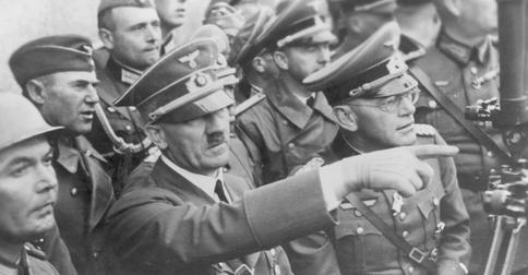 O ile inna byłaby Europa bez Hitlera... (fot. domena publiczna)