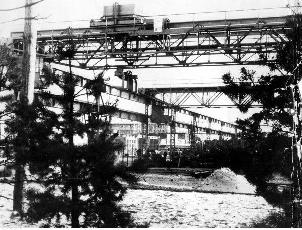 Huta w Stalowej Woli. Sztandarowa inwestycja COP-u. Fotografia z 1938 roku