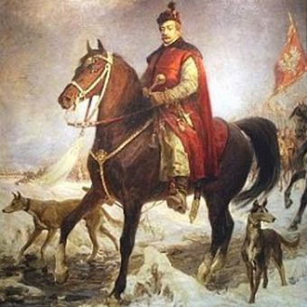 Oblężeniem Fellinu dowodził Jan Zamoyski. Portret konny pędzla Jana Styki.