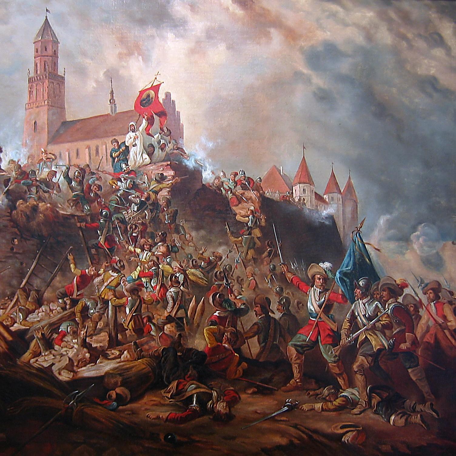 Obrona Jasnej Góry w 1655 roku.