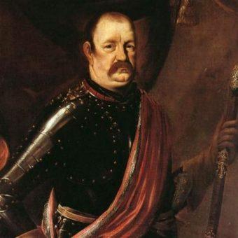 Portret Jerzego Lubomirskiego, dowodzącego wojskami oblegającymi Grudziądz.