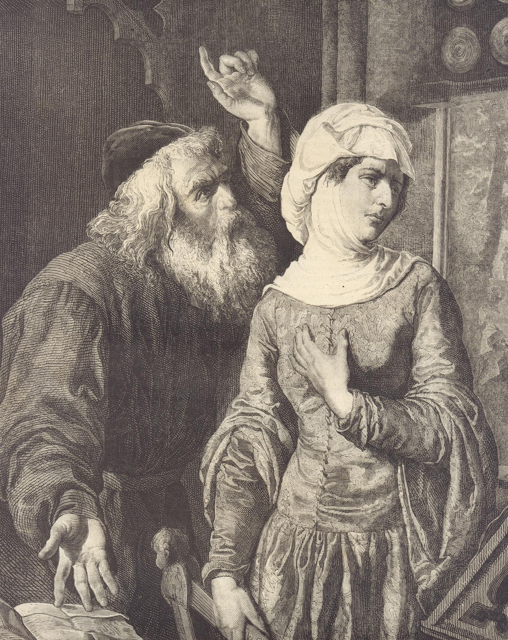 Kazimierz Wielki nie dał się poznać jako człowiek szanujący kobiety. Jeśli do jakiejś odczuwał respekt, to tylko do własnej siostry, Elżbiety. Powyżej: Kazimierz i jego domniemana kochanka, Esterka.