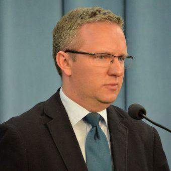 Krzysztof Szczerski w Sejmie w 2014 roku.