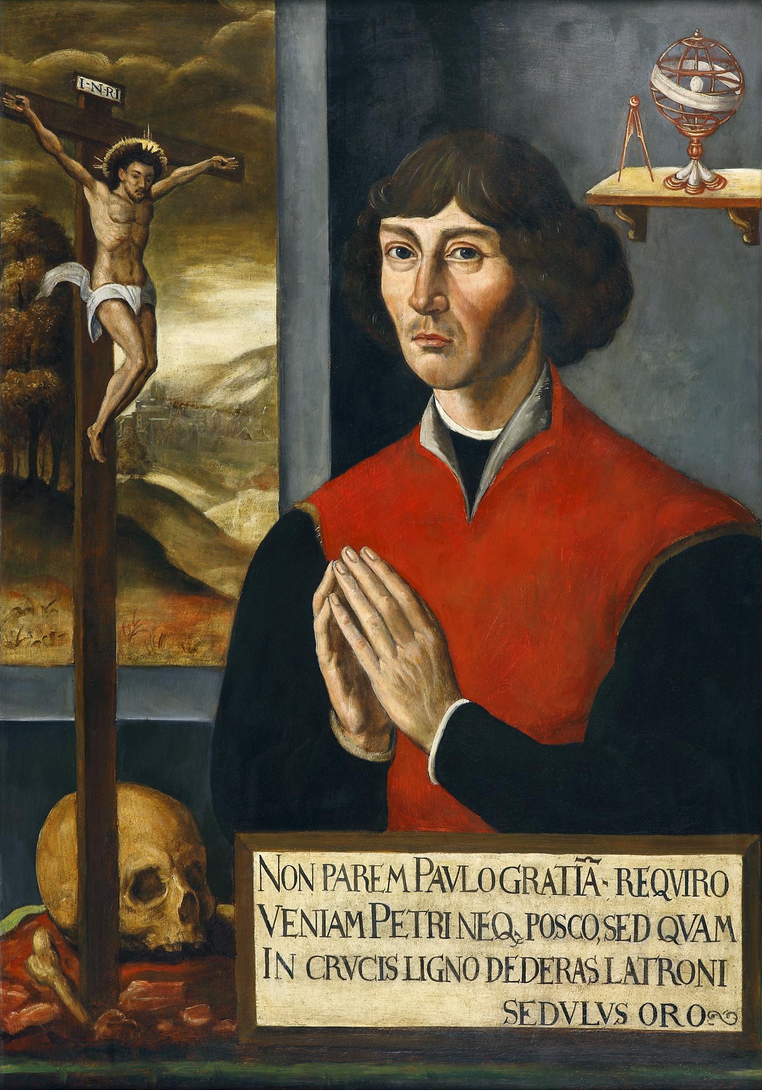 Mikołaj Kopernik. Obraz z kościoła św. Janów w Toruniu.
