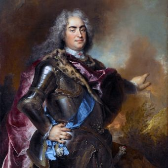 Nicolas de Largillière, portret Augusta II Mocnego (Augusta II Wettyna).