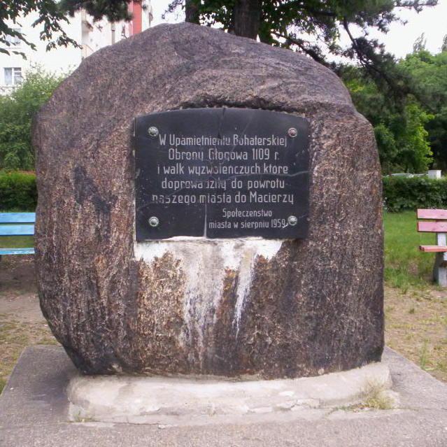 Pomnik upamiętniający obronę Głogowa