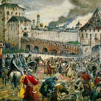 Polacy opuszczają Kreml w 1612 roku