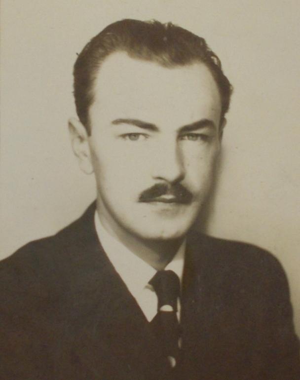 """Zygmunt Sztuka """"Rust"""" vel """"Wisman"""". Zdjęcie pochodzi z książki """"AK 75. Brawurowe akcje Armii Krajowej""""."""