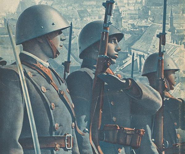 W agresji na Polskę wzięło udział ponad 51 tysięcy słowackich żołnierzy. Ilustracja poglądowa.