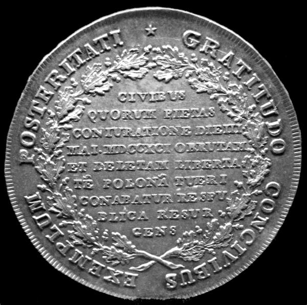 Talar konfederacji targowickiej wybity w 1793 roku