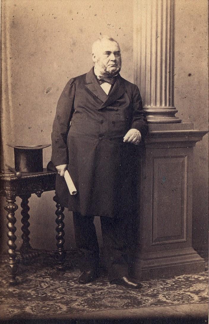 Aleksander hrabia Wielopolski, fotografia z lat 1861-1863.