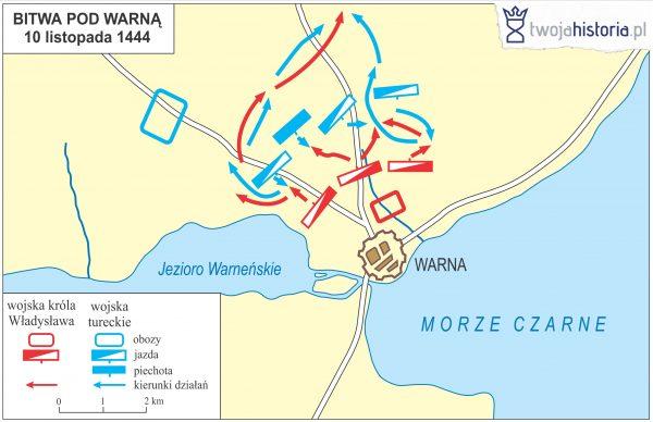 Bitwa pod Warną, 1444.