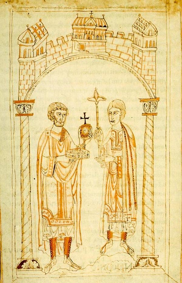 Czy nazwa herbu naprawdę pochodzi od zwykłego podziękowania wypowiedzianego przez Henryka V? (fot. domena publiczna)