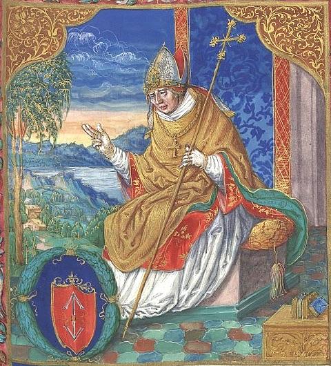 Arcybiskup Jarosław Bogoria. Jeden z największych antagonistów Elżbiety Łokietkówny.