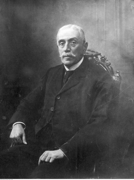 Józef Ostrowski. Jeden z trzech członków Rady Regencyjnej.