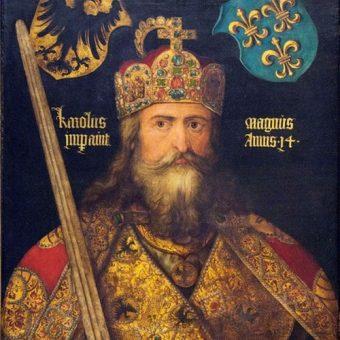 Karol Wielki na obrazie Albrechta Dürera.