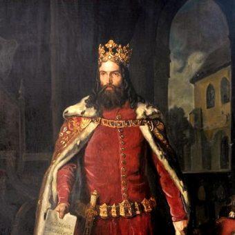 Kazimierz Wielki (autor: Leopold Löffler, domena publiczna)