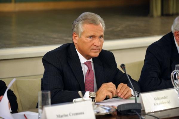 Aleksander Kwaśniewski. (fot. European University Institute, lic. CCA-SA 2.0 Generic)