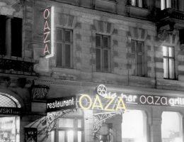 Jedna z najsłynniejszych przedwojennych knajp - Oaza.