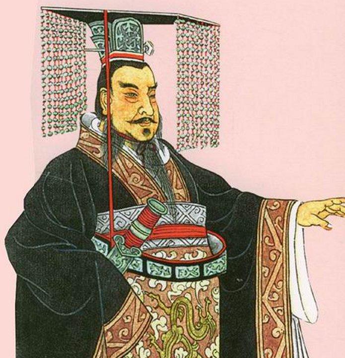 Pierwszy cesarz Chin przed zjednoczeniem kraju panował właśnie w Qin.