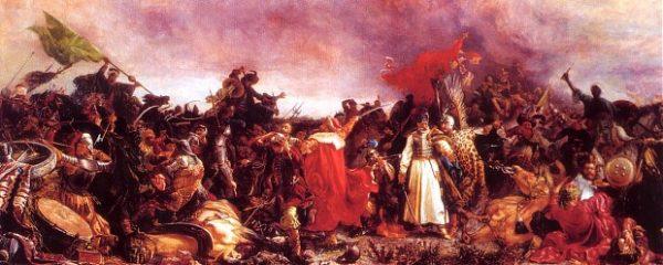 Bitwa pod Cecorą. Obraz Witolda Piwnickiego.