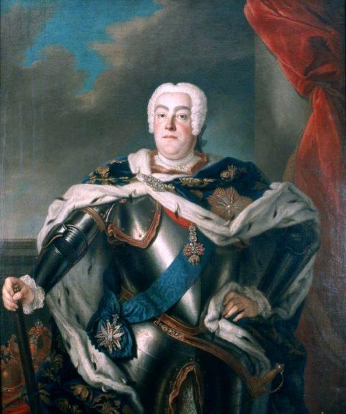 Louis de Silvestre, Portret Augusta III (fot. domena publiczna)