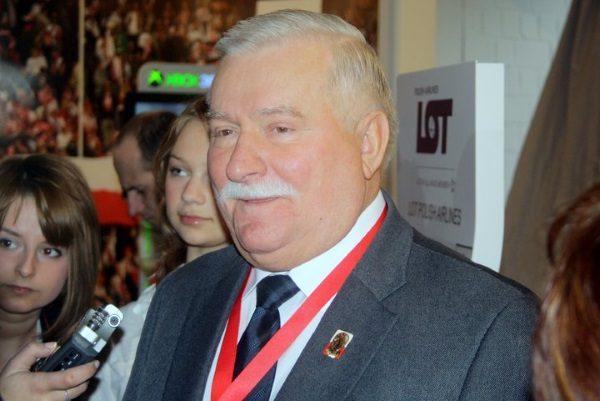 Lech Wałęsa (fot. Anthony Baratier, lic. CC BY-SA 3.0 pl )