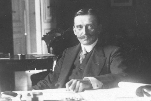 Członek Rady Regencyjnej, Zdzisław Lubomirski. To z nim jako pierwszym konferował Józef Piłsudski.