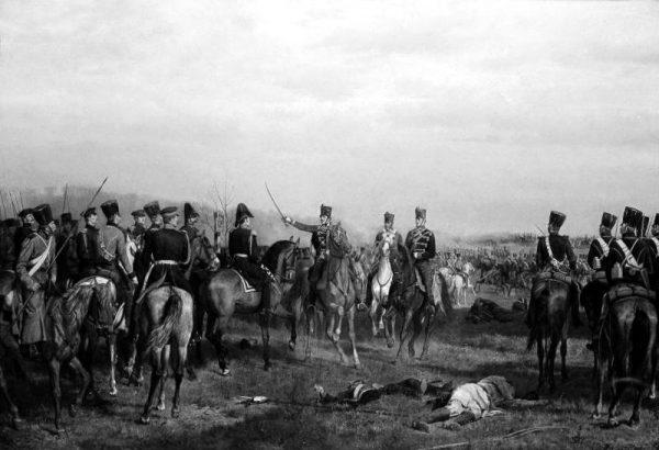 Punktem przełomowym dla Krakowa stało się widoczne na obrazie powstanie z 1846 roku, po którym miasto, wcześniej cieszące się autonomią, zostało włączone do państwa austriackiego. Od tego momentu jego status ciągle spadał.