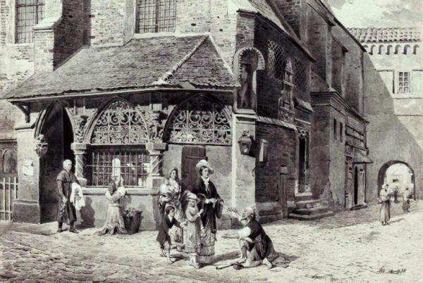 Pod koniec XIX wieku do Krakowa napływali mieszkańcy wsi, uciekający przed biedą. W mieście nie zawsze znajdowali pracę i środki do życia. Część z nich zasiliła grupę bezdomnych i żebraków.