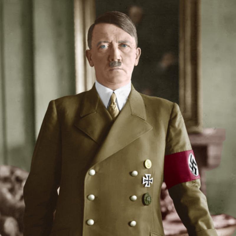 Adolf Hitler jako kanclerz III Rzeszy.